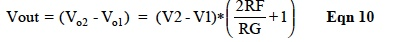 IC Op Amp Errors - Equation 10