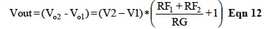 IC Op Amp Errors - Equation 12