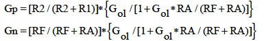 IC Op Amp Errors - Equation 5-1