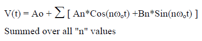 Measuring RMS Values - Equation 4
