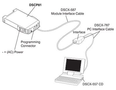 DSCX-557 Connection Diagram