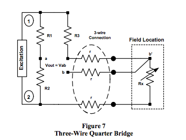 3-wire quarter bridge