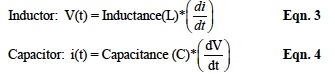 inductance and capacitance calculations