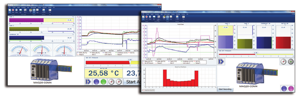 IPEmotion Graphical Data Acquisition Software for MAQ20