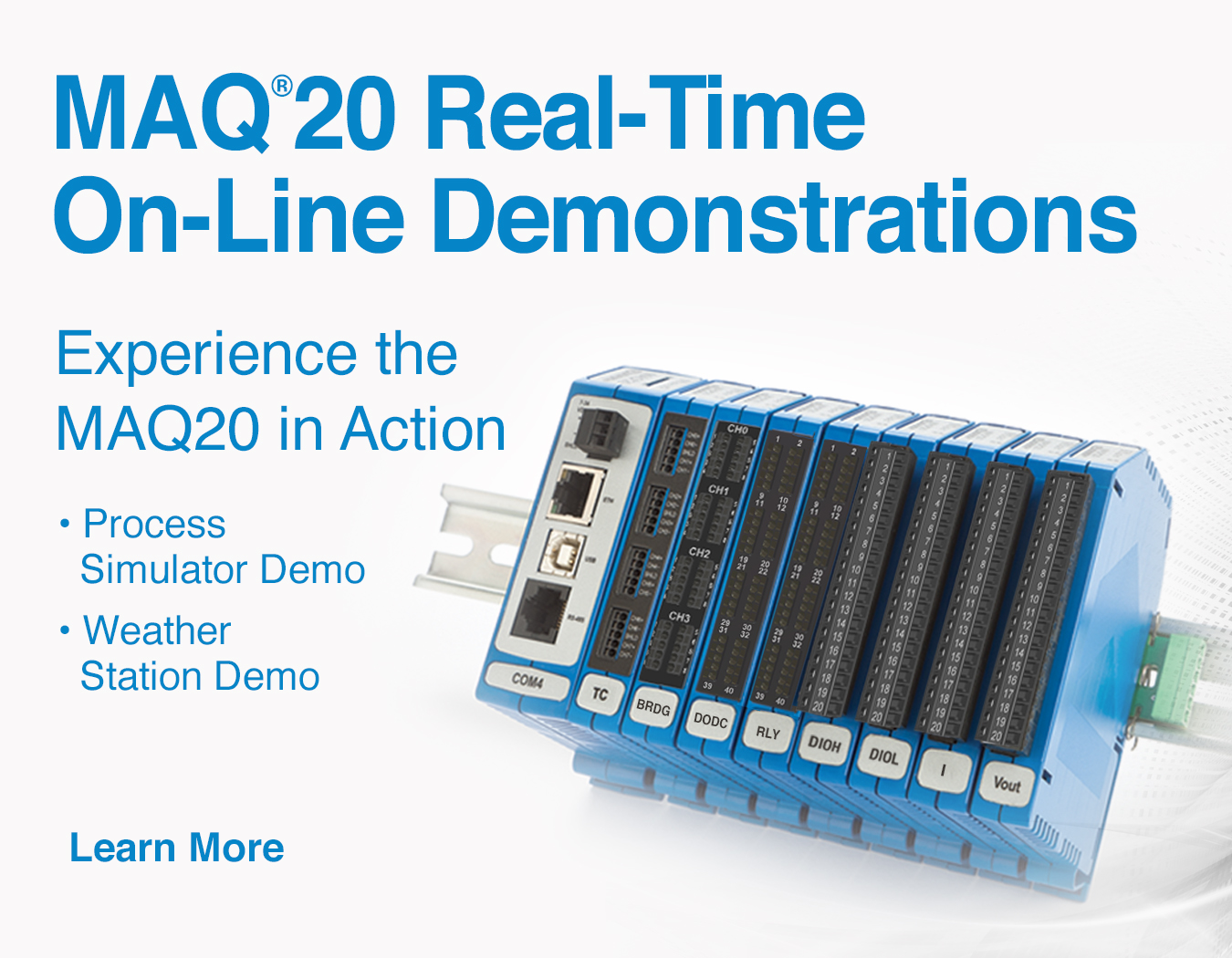 Dataforth Signal Conditioning And Data Acquisition Timer Circuits Digital Worksheets Maq20 Daq Demonstration