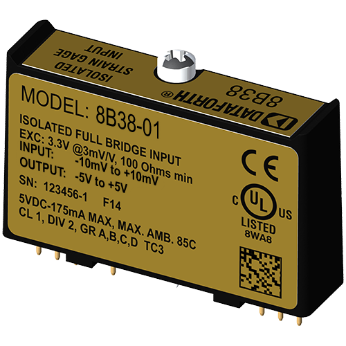 Strain Gage Input Modules, Wide and Narrow Bandwidth
