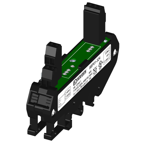 8B DIN Rail Carrier