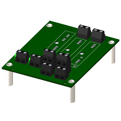 2-channel backpanel without cold junction compensation sensor