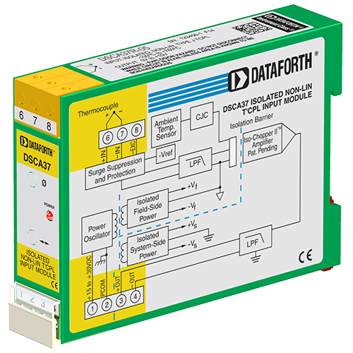 DSCA37R-05: Thermocouple Input Signal Conditioner