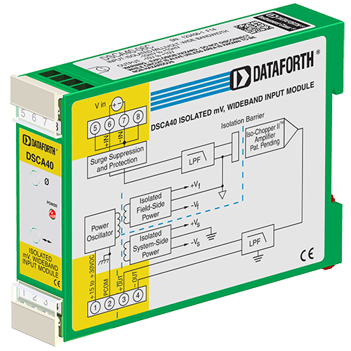 DSCA40-06C: Analog Voltage Input Signal Conditioner