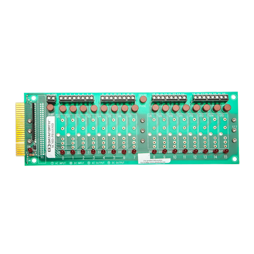 SCMD-PB16SMD: 16 Ch Backpanel, Miniature, DIN Mount
