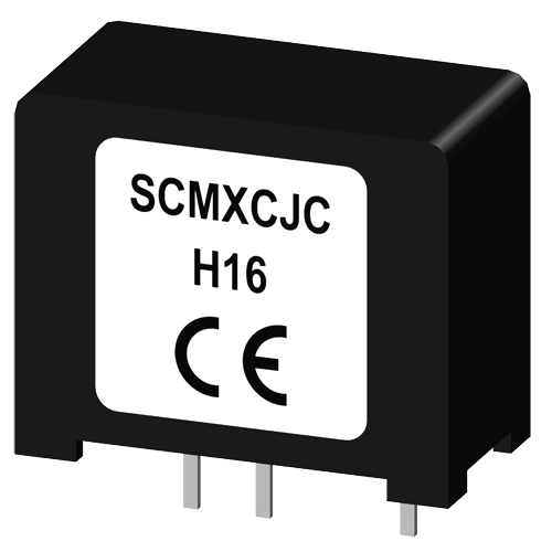 Encapsulated cold junction compensation circuit for SCM5B modules