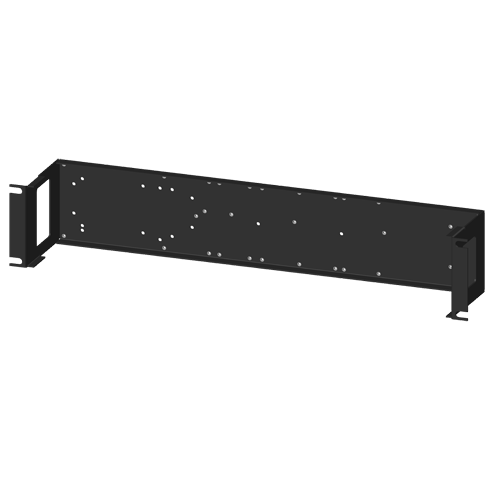 SCMXRK-002: 19 inch metal rack for mounting analog backpanels